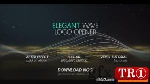 Elegant Wave标志开启器l Particles Lines标志开启器25444371