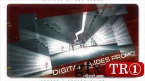 AE模板 历史纪录片时间线数字科技图文幻灯片  21535824