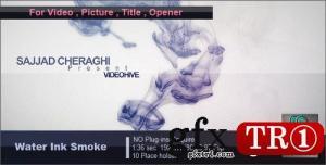 CG天下 AE模板 水墨烟雾字幕标题图文幻灯片开场 1722263