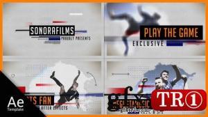AE模板 体育运动体育明星介绍图文幻灯片 20314154