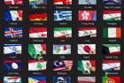 70个国家旗帜4k视频素材包 Flags Country Bundle