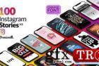 Instagram故事包Essential Graphics Mogrt V2 22961692