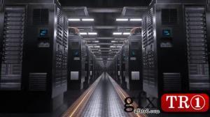 高科技数字服务器室循环背景视频素材23801300