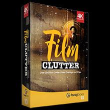 200+电影噪波视频素材包BusyBoxx - V10 Film Clutter