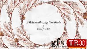 圣诞贺卡视频卡22951656
