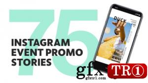 75款微商小视屏抖音宣传促销 Insta Event Promo Stories 23461587