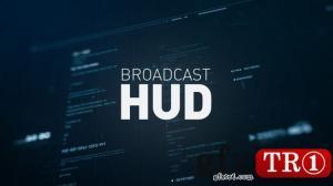 AE模板 高科技hud界面元素电视广播包 10251206