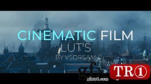 CG天下 PR模板 电影胶卷调色预设Cinematic Film LUTs  143672