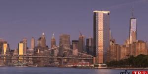 曼哈顿延时摄影726501