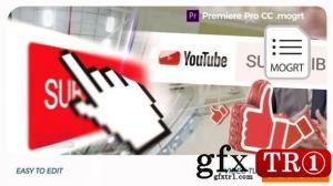 YouTube Opener // Premiere Pro 模板25552335
