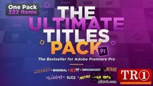 最终标题包-Premiere Pro PR模板 25509371