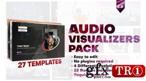 Videohive Audio Visualizers Pack 28006092
