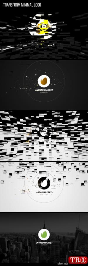 AE模板 小logo字幕标题展示 21287803