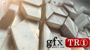 CG天下 AE模板 建筑生长泥土混合三维logo标志字幕标题包 22546846