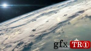 CG天下 火箭发射太空视频素材  17238507