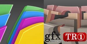 CG天下 AE模板  3D彩色logo标志演绎 2474135