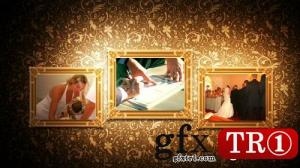 CG天下 AE模板  皇家婚礼相册图文幻灯片 v4 3023716