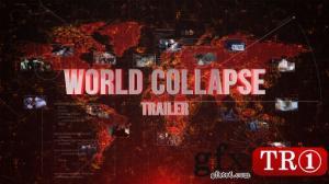 CG天下 AE模板  世界地图奔溃电影预告宣传片头 15421121