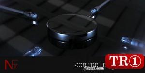 CG天下 AE模板  机器人烟雾logo标志演绎 2025860