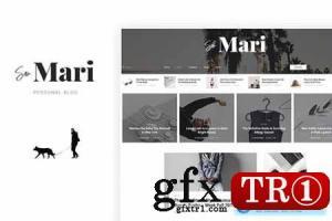 San Mari-博客PSD模板