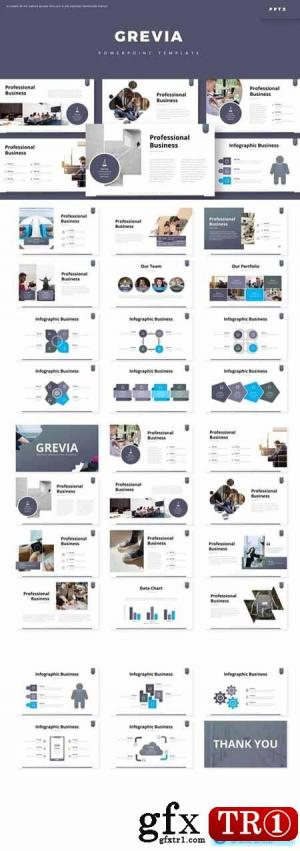 Grevia Powerpoint,主题演讲和Google幻灯片模板