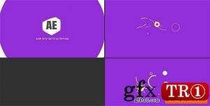 简洁形状动画logo标志演绎20325180 -CG天下