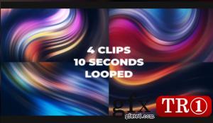Neon Liquid Background Pack  631105