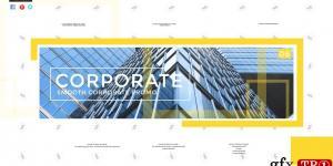 流畅的企业幻灯片Smooth Corporate Slideshow  733749