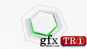 Tech Hexagon徽标33873142