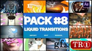 流体mg动画元素包Liquid Transitions Pack 08 24780743