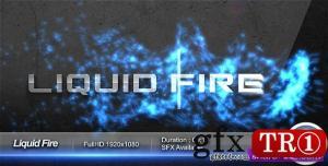 AE模板 流体火焰粒子logo标志演绎 48121