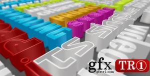 CG天下 AE模板 多彩三维空间3D字幕标题排版包   2527967