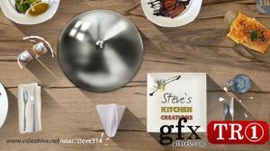 AE模板 烹饪餐饮电视栏目包装开幕序列  11007230