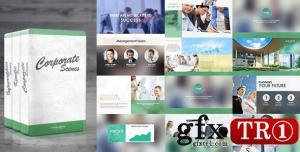 AE模板 现代时尚企业公司图文幻灯片时间线宣传  7794108