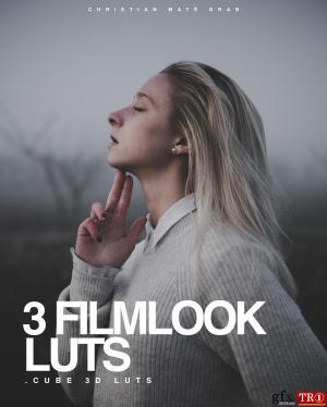 索尼Cine4的3个电影胶卷 Filmlook LUTS