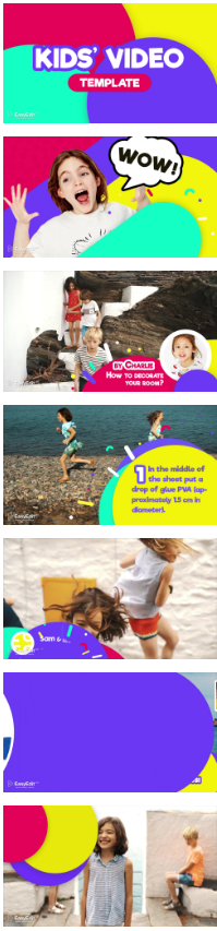 AE模板 少儿卡通电视栏目频道包装自媒体宣传介绍 20228316